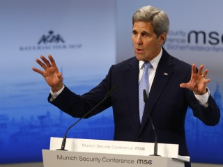 John Kerry Takes Aim at Russia Over Ukraine and Syria at Munich Conference