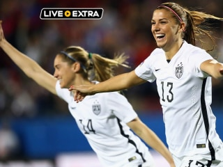 USWNT Beats Mexico 1-0; Advances to Olympic Qualifying Semis