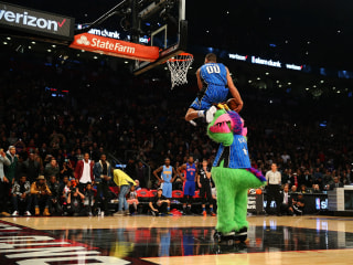 Zach LaVine, Aaron Gordon go Head-to-Head in Epic Dunk Contest