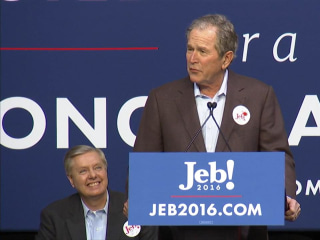Former Presidents George H.W. Bush and George W. Bush Stay Clear of WH Race
