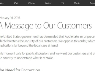 Full Text of Apple CEO Tim Cook's Open Letter on FBI Court Ruling