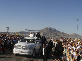 Pope Francis Visits Juarez, Stopping at Prison and U.S. Border