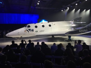 Virgin Galactic Unveils New SpaceShipTwo After Catastrophic Accident