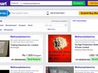 Meth, Ecstasy, LSD Are Sold on India's Version of Amazon