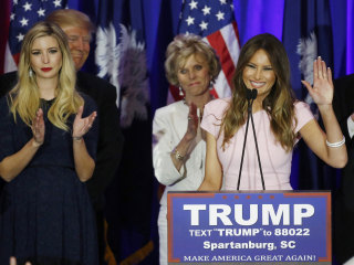 Melania Trump Discusses Husband's Immigration Rhetoric