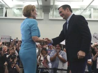 Carly Fiorina Endorses Ted Cruz
