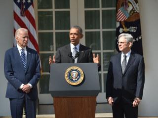 Vice President Biden Rips Supposed 'Biden Rule'
