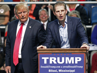 Eric Trump: My Father Will Accept Election Results 'If It's Fair'