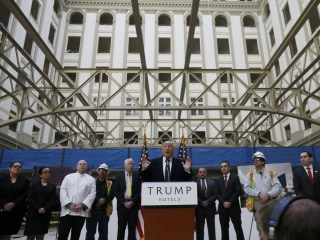 Trump's New DC Hotel Opens, at Over $500 per Night