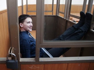 Russia Jails Ukrainian National Hero Nadiya Savchenko for 22 Years