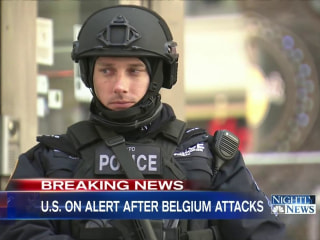 Officials: No Intel of a Brussels-Style Attack in U.S.