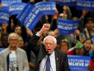 Bernie Sanders Acknowledges 'Narrow Path' to Nomination