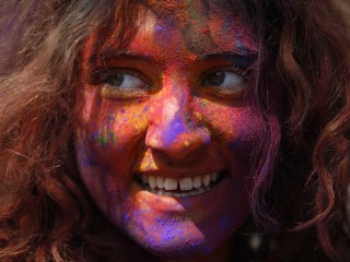 Happy Holi: Devotees Celebrate Spring With Splashes of Color