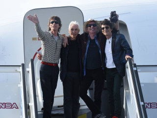 Rolling Stones Arrive in Cuba for Historic Concert