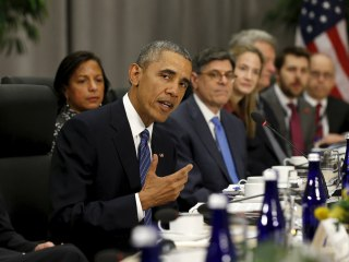 Obama, World Leaders Discuss Keeping Nuclear Weapons from ISIS