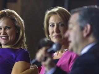 Cruz's Dynamic Duo Counter Trump's Women Woes