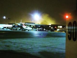 Hundreds Flee Airport Terminal After Blaze Re-Ignites