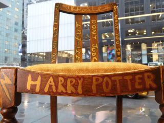 Chair Used by 'Harry Potter' Author J.K. Rowling Up for Auction