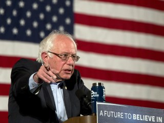 Bernie Sanders Doesn't Say No to Hypothetical Clinton VP Slot