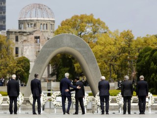 Kerry Becomes Highest-Ranking U.S. Official to Visit Hiroshima Memorial