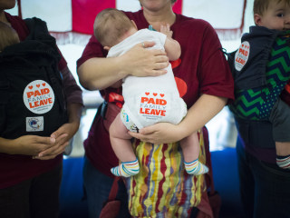 Push for Paid Family Leave Growing (If You Have the Right Job)