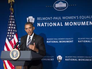 Obama: Memorial a 'Centerpiece' for Women's Struggle for Equality