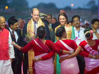 Will and Kate Retrace Princess Diana's India Trip