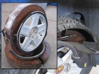$1.6 Million in Meth Found Hidden in SUV Tires