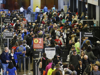 Summer Fliers May Simmer on Long Airport Security Lines