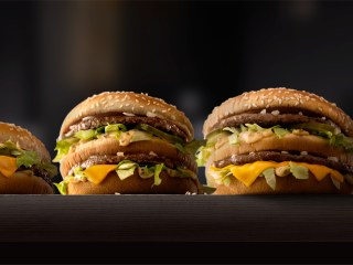 Big Mac Jacked: McDonald's Iconic Burger Now Bigger, and Smaller