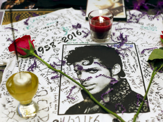 Prince Fans Pay Tribute to the Music Icon