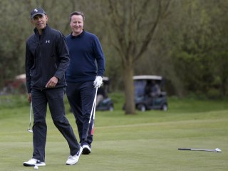 Obama Brushes Off London 'Brexit' Backlash With Golf, Shakespeare