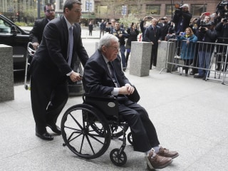 Dennis Hastert Sentenced to 15 Months in Prison in Hush-Money Case
