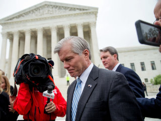 Federal Prosecutors Won't Retry Former Va. Gov. McDonnell