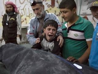 Syrian Battleground: Rebel-Held Aleppo Rocked by Airstrikes