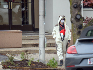 Baltimore TV Station Evacuated After Bomb Threat From Man in Panda Suit