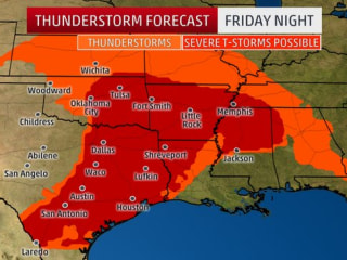 Storm-Weary South Gears up for More Rain, Hail, Tornadoes