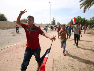 Baghdad Chaos: Protesters Topple Green Zone Walls, Storm Parliament