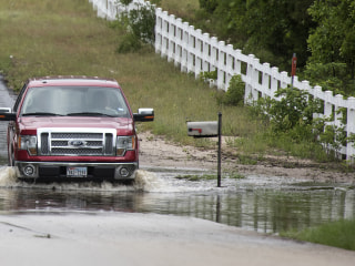 Overnight Flooding Kills Five People in Texas Amid Violent Winds, Heavy Rains