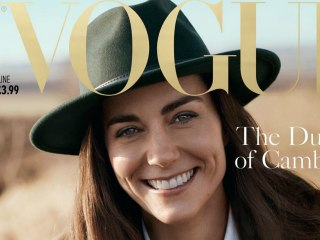 See Duchess Kate's Stunning British Vogue Photos
