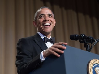 White House Correspondents' Dinner: Obama Gets Laughs at Final Event as President