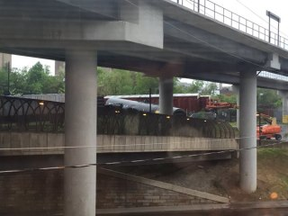 Train Carrying Hazardous Material Derails in D.C.
