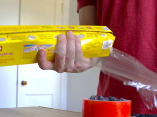 Hate pulling out plastic wrap? This 1 tip will change that