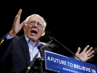 Bernie Sanders Warns Hillary Clinton on Running Mate Pick