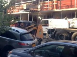 Owner Outraged After Forklift Moves Parked SUV
