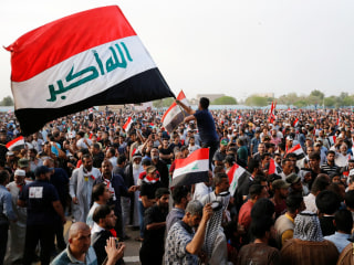 Protesters in Iraq's Green Zone Disband After Issuing Political Demands
