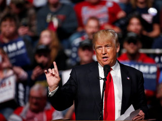 Donald Trump in Indiana Says China Is 'Raping' America