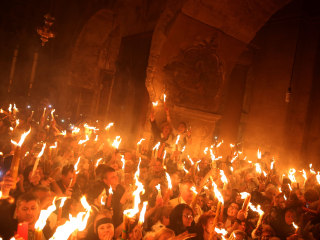 Holy Fire: Millions of Russian Christians Embrace Ritual