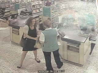 Grocery Store Surveillance Image Released of Missing Florida Air Force Vet Mom
