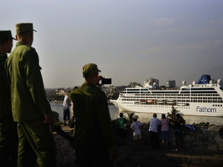 Ahoy, Americanos! Tourists Come Ashore in Cuba